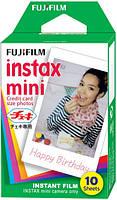 Фотопленка Fujifilm Colorfilm Instax Mini Glossy х 2 (в магазине)