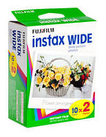 Фотоплёнка Fujifilm Colorfilm Instax Wide х 2