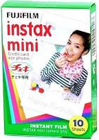 Фотопленка Fujifilm Colorfilm Instax Mini Glossy ( на складе )