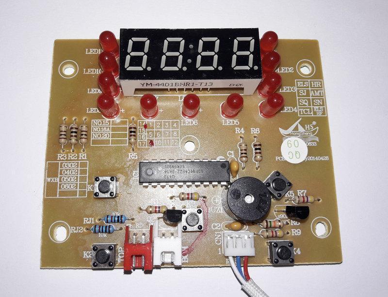 Плата управления на мультиварку Redmond RMC-M10 (тип 3)