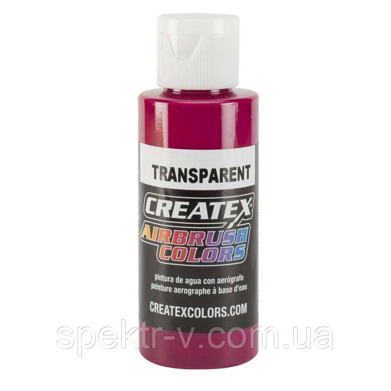 Краска для аэрографии Createx Colors - Transparent 5122 -  Transparent Fuchsia, 60 мл