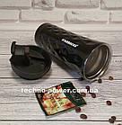Термокружка 500 ml Starbucks Diamond Waves. Термостакан 500 мл термос Старбакс 3D Черный, фото 4