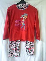Пижамы подростковые теплые ( С 6-12 лет )