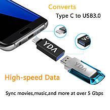 "Переходник адаптер USB 3.1 Type-C  на USB 3.0 ""папа""  ""мама"", фото 2"