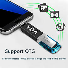 "Переходник адаптер USB 3.1 Type-C  на USB 3.0 ""папа""  ""мама"", фото 3"