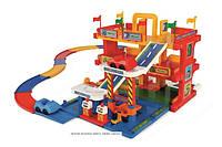 Детский гараж 3 уровня с дорогой 3 м