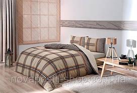 ТАС Фланель Avita camel 200x220, комплект постельного белья евро