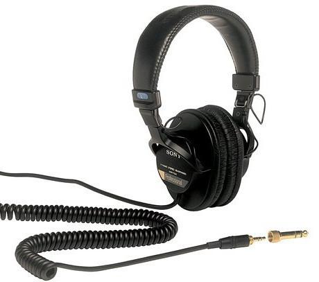 Наушники Sony MDR-7506 черный