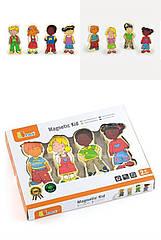 Набор магнитных фигурок Viga Toys Дети (12 шт.) (59699VG)