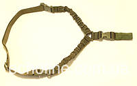 Ремень оружейный одноточечный усиленный USA Style олива