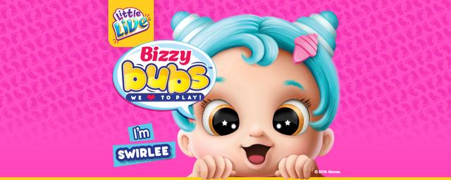 Интерактивные игрушки little live pets, Bizzy Bubs