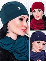 Трикотажная шапка - ЛЮСИ - , фото 1