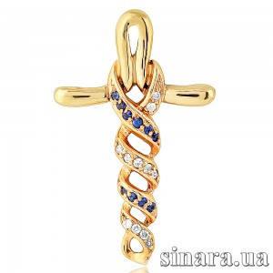 Золотой крестик 3669
