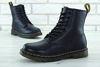 Женские ботинки Dr.Martens Black (с мехом) 37