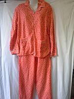 Пижамы женские теплые БАТАЛЫ
