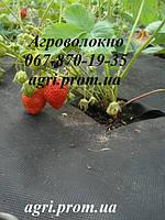 Агроволокно Агротекс 60 г/м² черное (3,2м*200м), мульчирующее от сорняков, для клубники