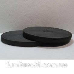 Резинка 1.5 см Черная в рулоне 40 метров