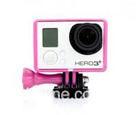 Крепление Рамка для GoPro Hero 3+ / 3 розовый