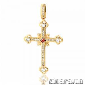 Золотой крестик 6728