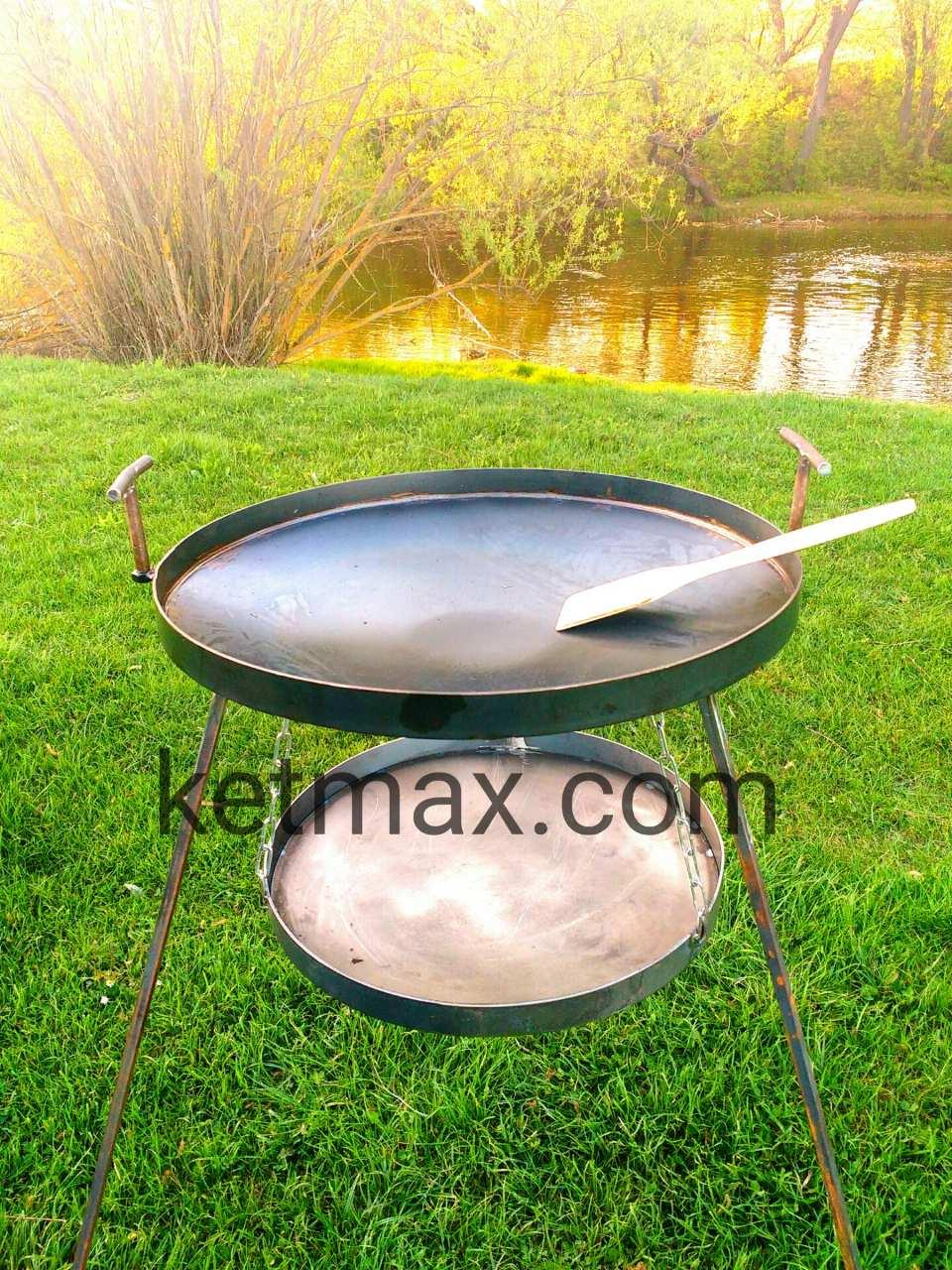 Сковорода с подставкой для огня