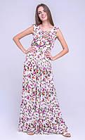 Платье в пол VMMA S Белый PL-1824-S, КОД: 267397