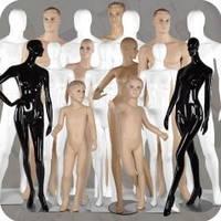 Виды манекенов