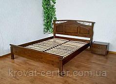 """Кровать двуспальная из массива дерева для спальни """"Марго"""" (цвет на выбор) от производителя, фото 2"""