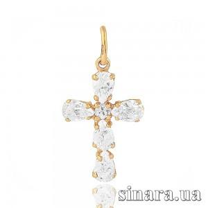 Золотой крестик 6751