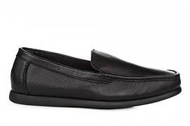 Мужские мокасины Clarks Fashion Moccasin M размер 41 Черные, КОД: 241514