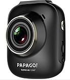 Автомобильный видеорегистратор PAPAGO S36 Ultra HD 1296P угол обзора 178° ночная съемка Ambrella A7L50, фото 2