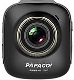 Автомобильный видеорегистратор PAPAGO S36 Ultra HD 1296P угол обзора 178° ночная съемка Ambrella A7L50, фото 3