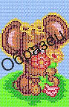 Схема для вышивки бисером «Мышка»