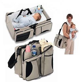 Многофункциональная переноска-кровать для малышей Ganen baby bed and bag, фото 2