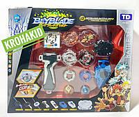 Игровой набор из 4-х волчков BeyBlade с ареной и запусками BeyBlade Battle set TD