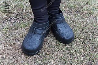 Галоши женские черные ( Код : ГП-06)