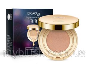 Увлажняющий Кушон Bioaqua BB Exquisite & Delicate 15g №3 (Light)