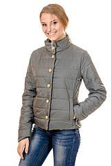 Женская демисезонная куртка IRVIC FK155 48 Оливковый IrC-FK155-48, КОД: 259019
