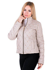 Женская демисезонная куртка IRVIC 48 Бежевый IrC-ZK20-140-48, КОД: 259060