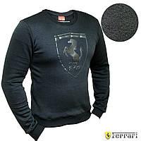 Свитшот Puma Ferrari Black кофта батник Пума Феррари