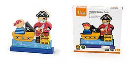 Детский пазл Viga Toys Пират (50077)