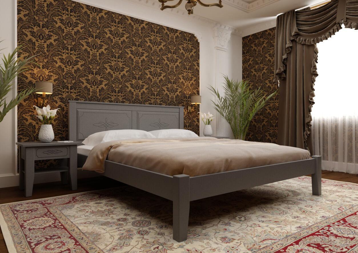Кровать Майя с низким изножьем ТМ ЧДК
