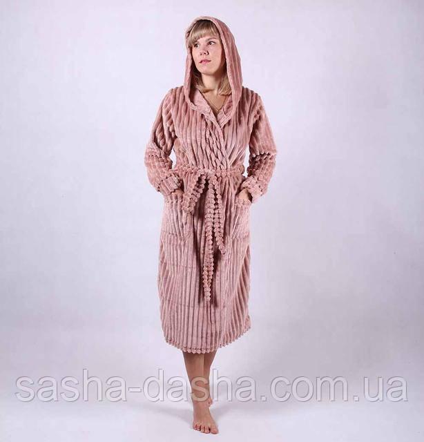 Шикарный махровый халат женский