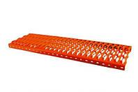 Скамья трубочиста стальная 250*800 мм Красный