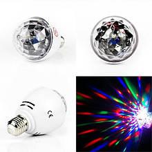 Диско лампа LASER Rotating lamp big, вращающаяся светодиодная диско лампа, диско шар для вечеринок CG07 PR2