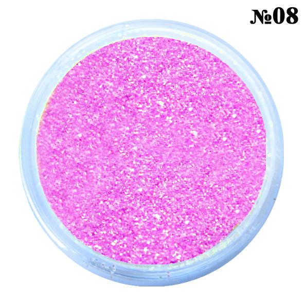 Песочки Блесточки Глиттеры Фиолетового Цвета для Декора и Дизайна Ногтей в Банках, Маникюр, Ногти