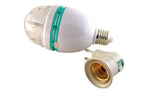 Диско обертається лампа LED lamp для вечірок LASER LY 399 E27 CG07, фото 3