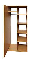 Шкаф для одежды и книг 1-дверный (0635)