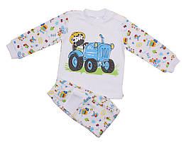 Пижама Valeri-Tex 1782-55-395-027-02 92 см Белый, КОД: 262076