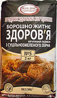 """Мука ржаная """"Здоровье"""" (2 кг)"""