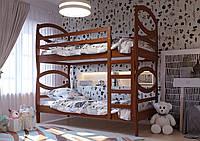 Ліжко Наутілус Вільха двоярусна трансформер ТМ ЧДК, фото 1